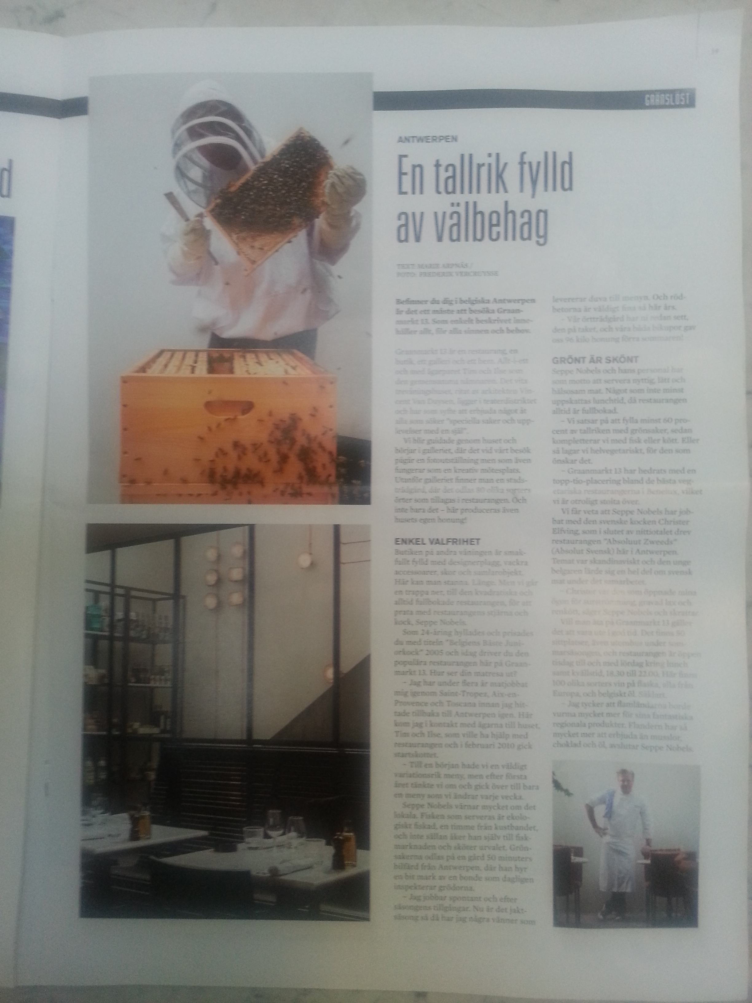 Restaurangchef june 2014